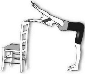 élévation épaules sur chaise